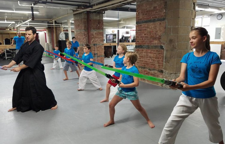 Light Saber Fitness for Kids and Youth (ages 5-12) – Sword Class NYC